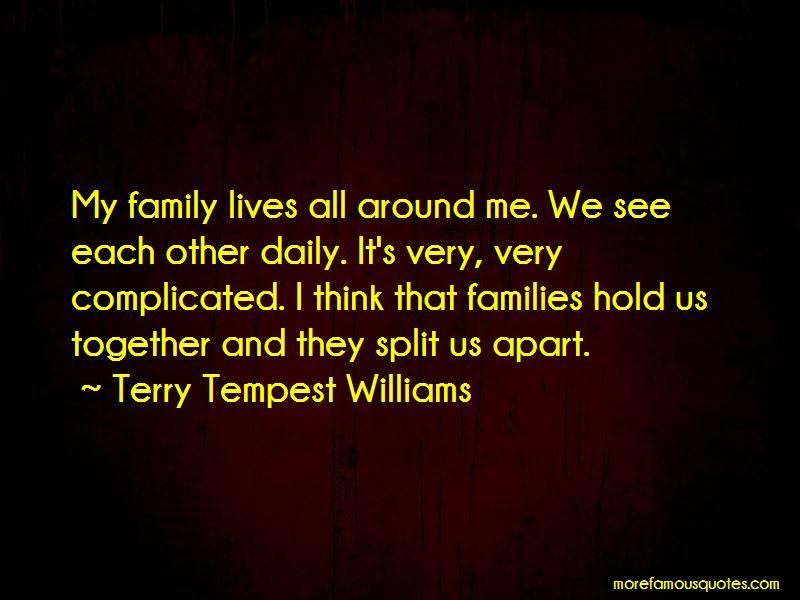 Quotes About Split Families