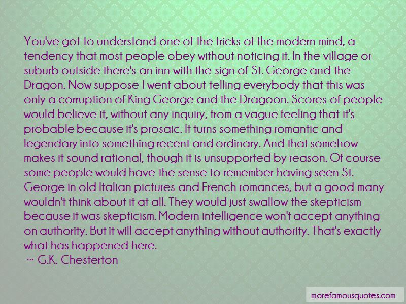 Quotes About St George And The Dragon