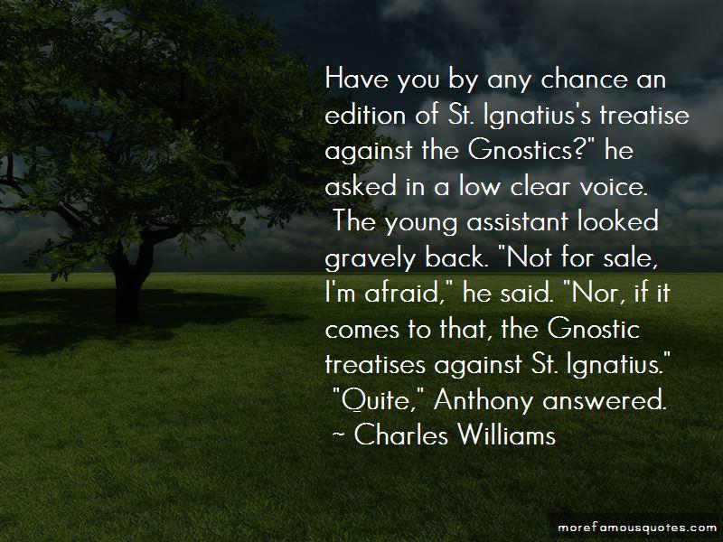 Quotes About St. Ignatius