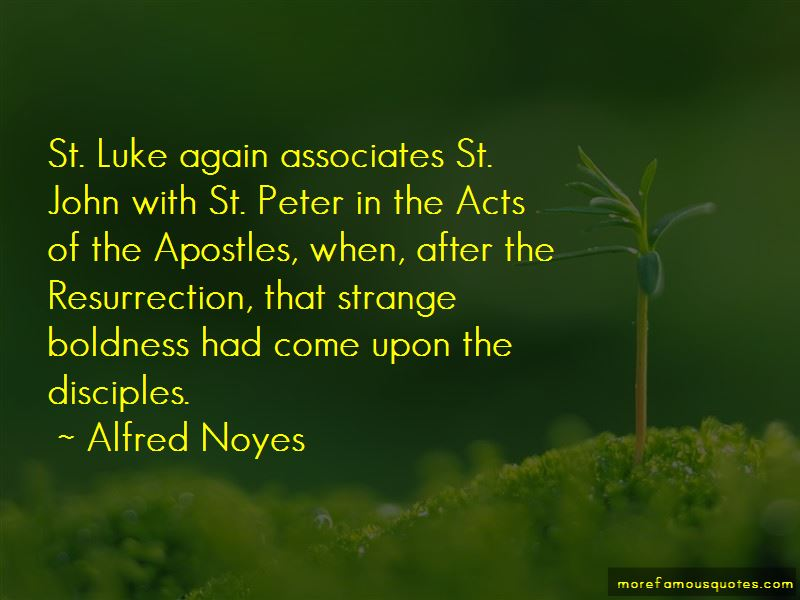 Quotes About St. Luke
