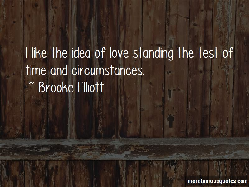Quotes About Standing The Test Of Time