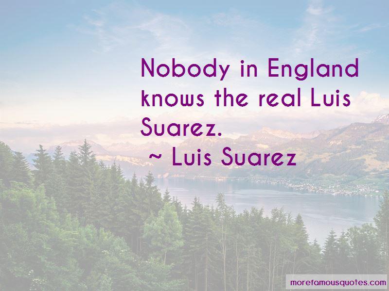 Quotes About Suarez