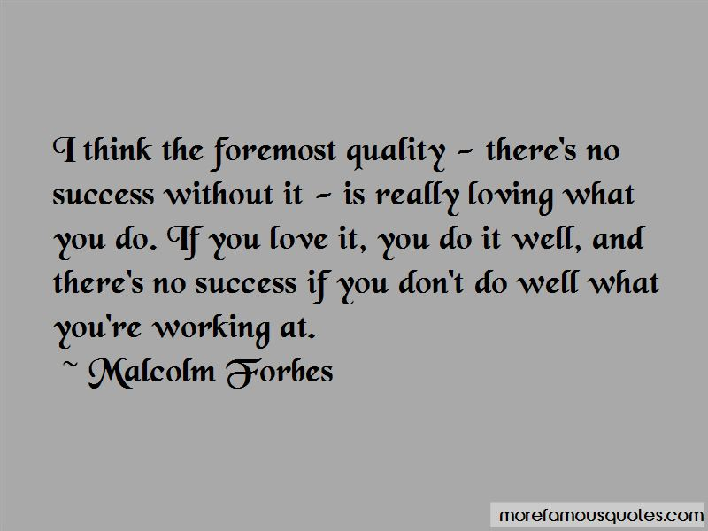 Quotes About Success Without Love