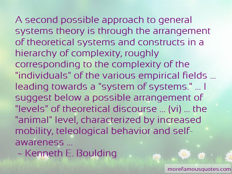 Quotes About Systems Theory