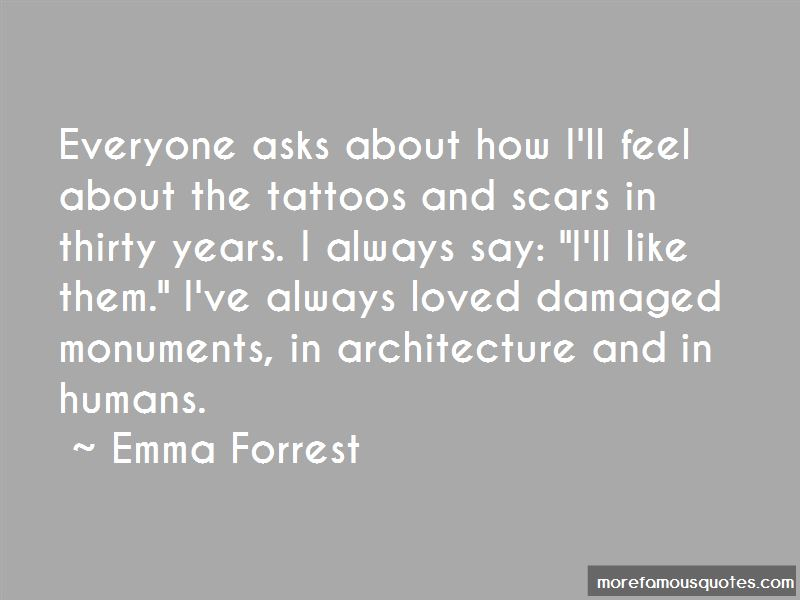 Quotes About Tattoos And Scars