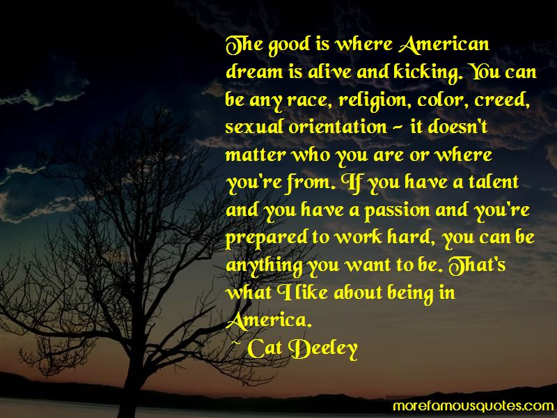Quotes About The American Dream Being Alive