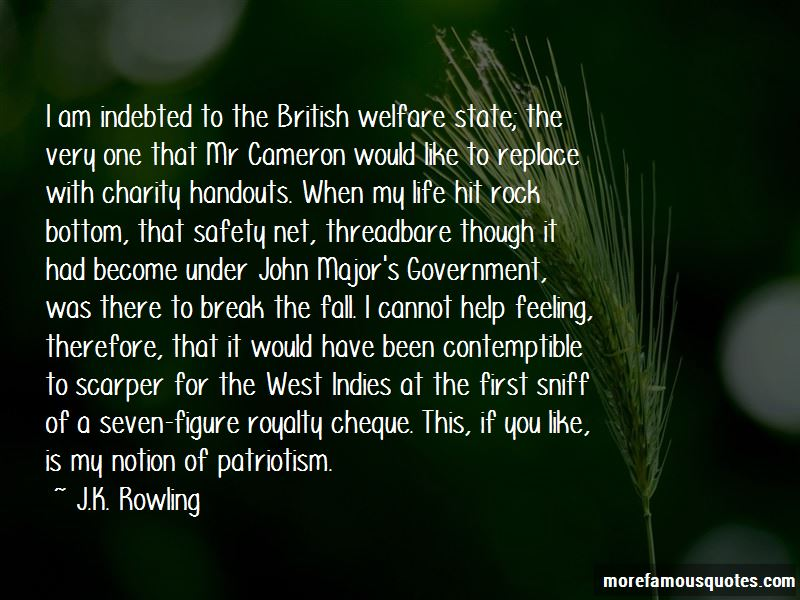 Quotes About The British Welfare State