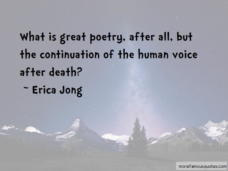 Quotes About The Human Voice