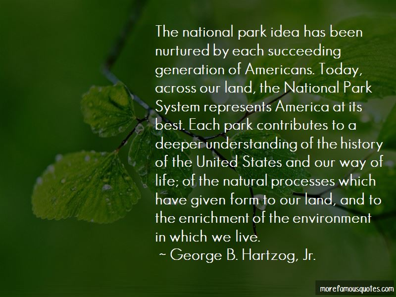 Quotes About The National Park System