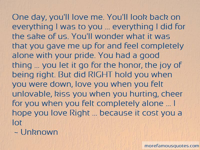The One You Love Hurting You Quotes Pictures 4