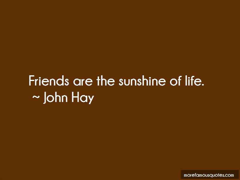 Quotes About The Sunshine