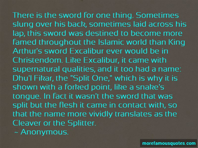 The Sword Excalibur Quotes Pictures 4