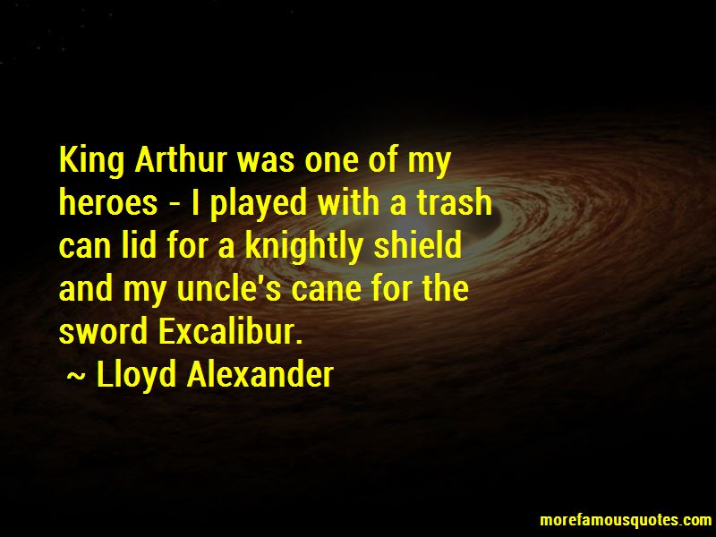 Quotes About The Sword Excalibur