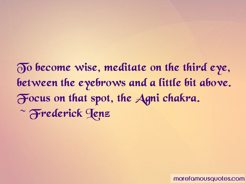 Quotes About The Third Eye Chakra