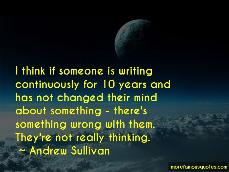 Quotes About Thinking Someone Has Changed