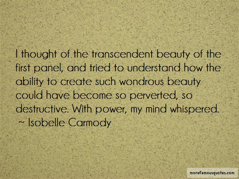 Quotes About Transcendent
