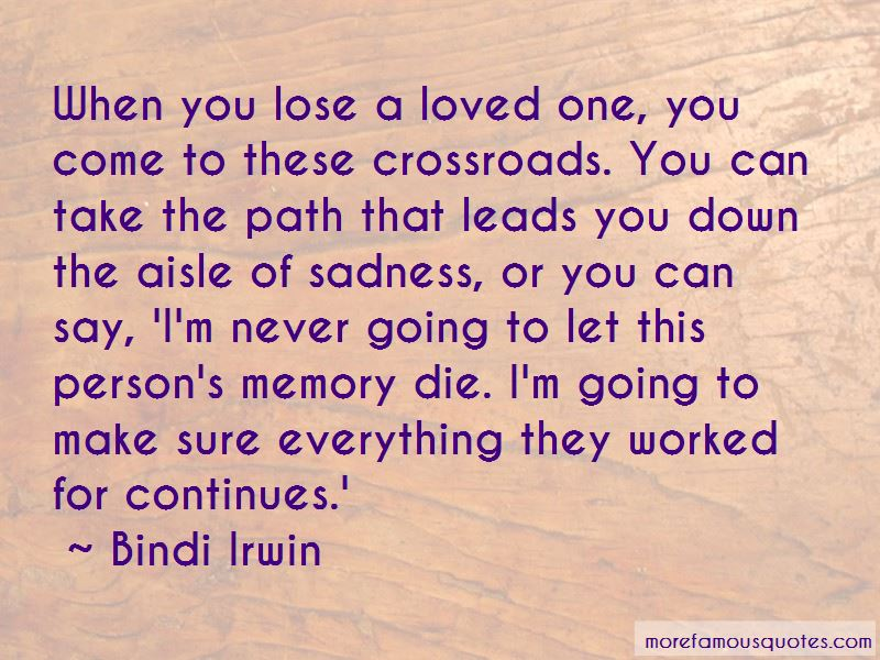 Quotes About When You Lose A Loved One