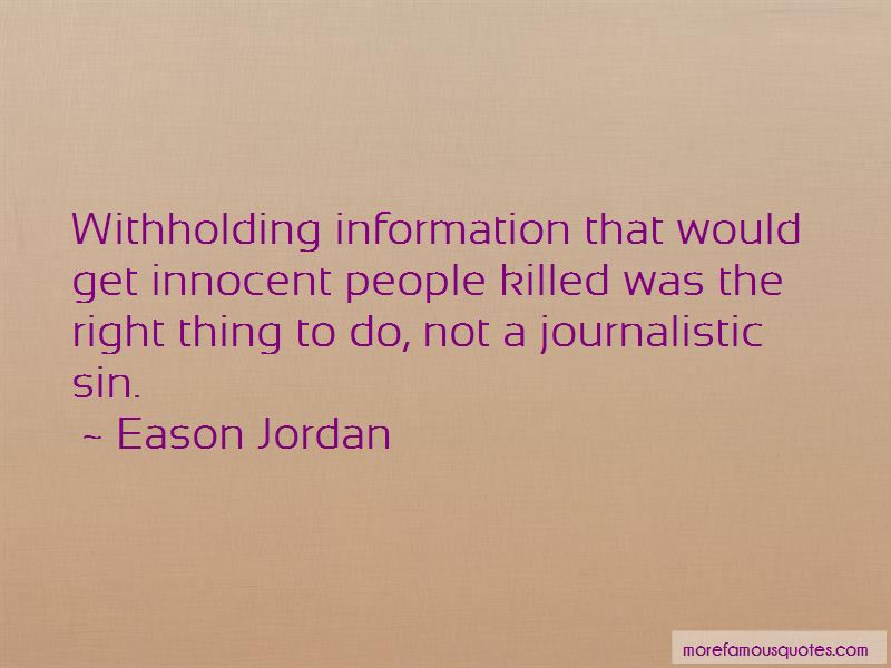 Quotes About Withholding Information