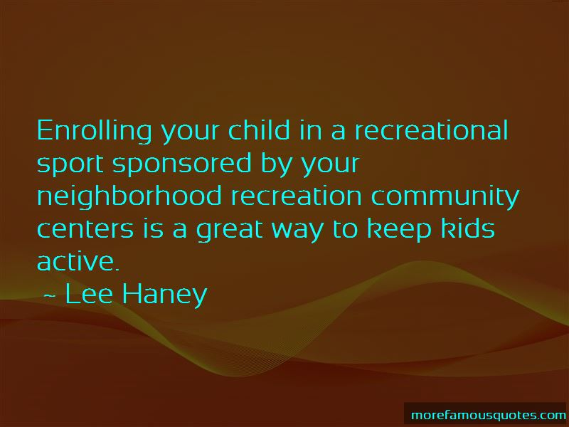 Recreational Sport Quotes Pictures 3