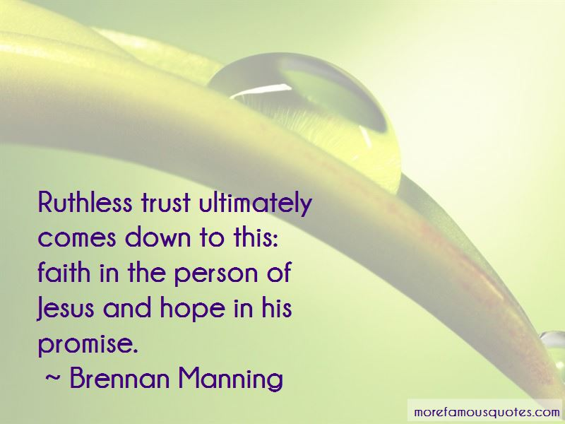 Ruthless Trust Quotes