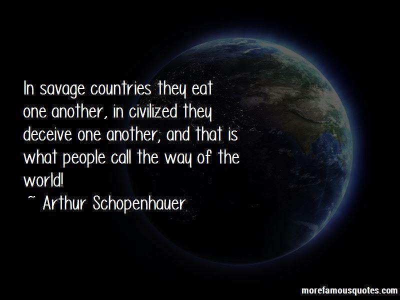 Savage Vs Civilized Quotes Pictures 2