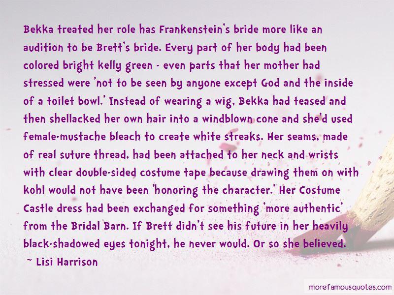 Stressed Bride Quotes