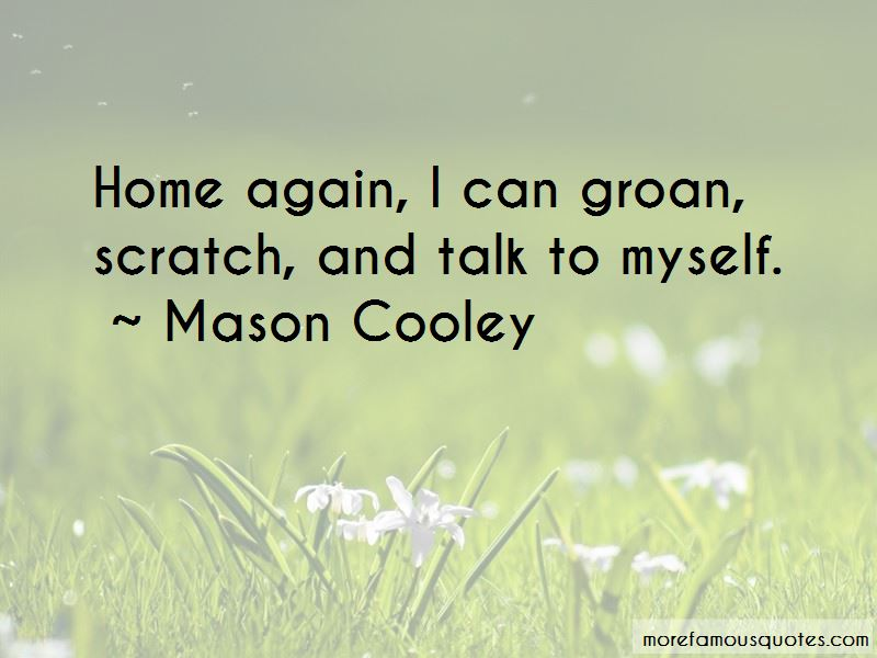 Talk To Myself Quotes