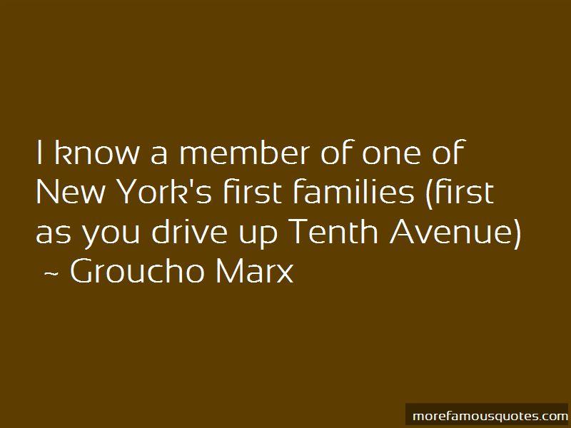 Tenth Avenue Quotes