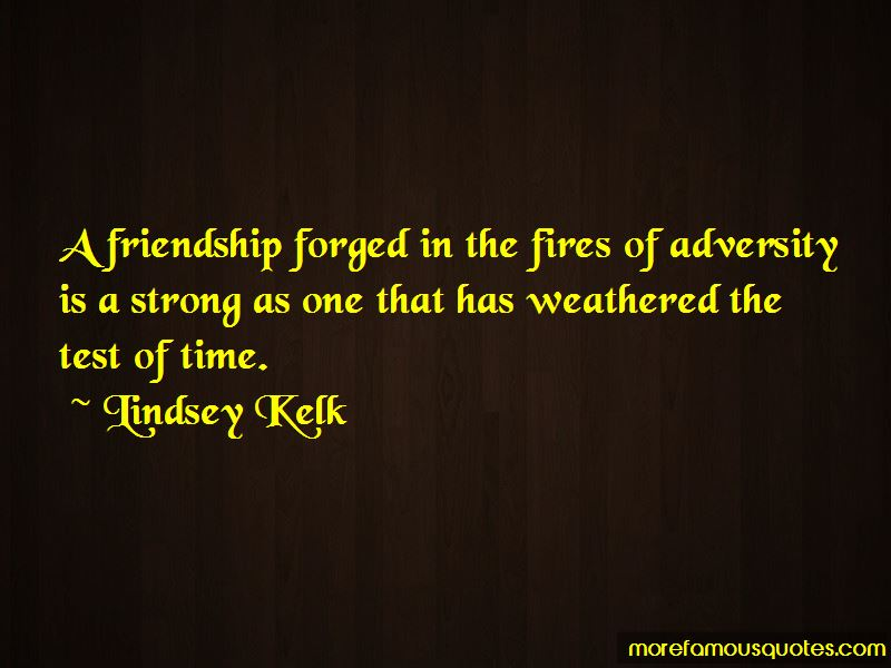 Test Of Time Friendship Quotes Pictures 2
