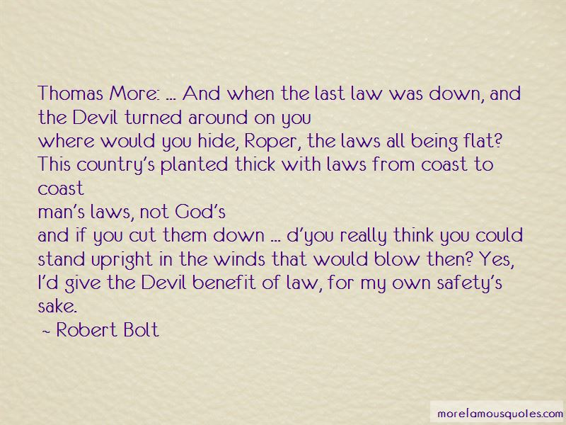 Thomas More Law Quotes Pictures 2