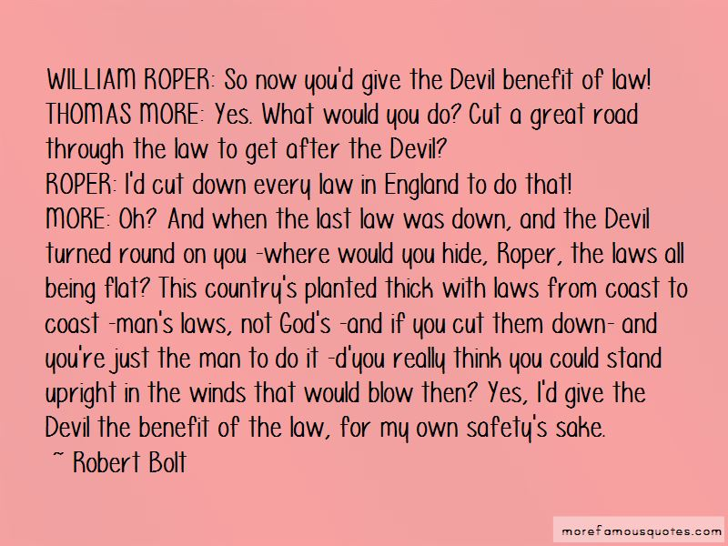 Thomas More Law Quotes Pictures 3