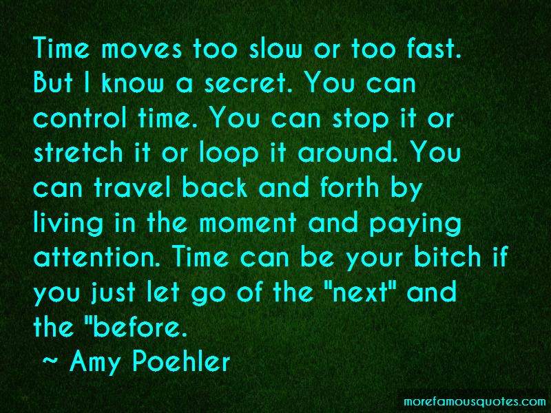Time Moves Too Slow Quotes
