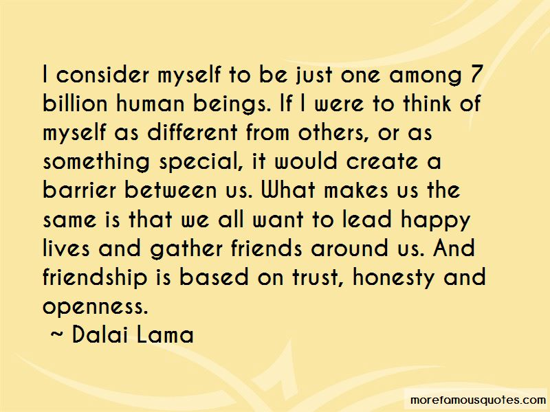 Trust And Honesty In Friendship Quotes: top 6 quotes about Trust And