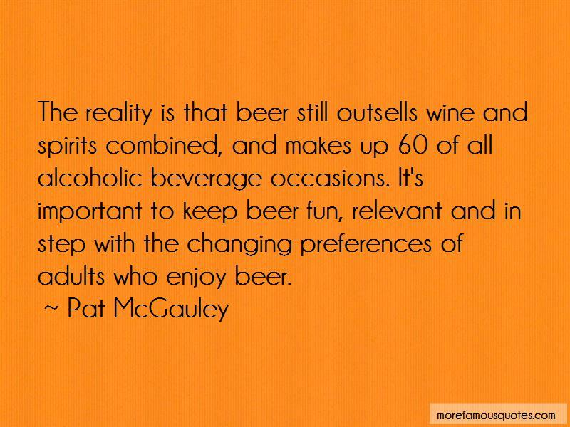 Alcoholic Beverage Quotes