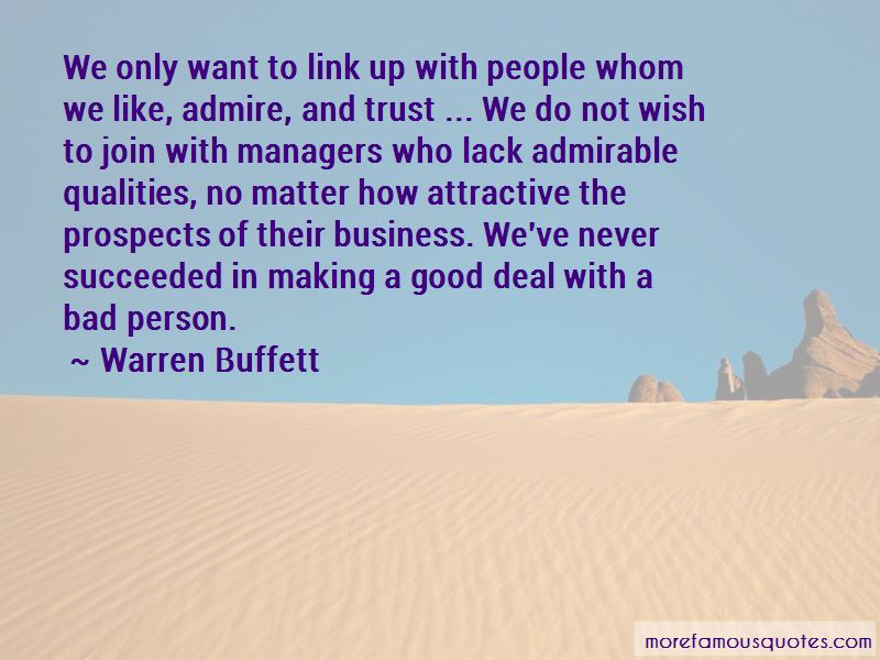 Bad Business Deal Quotes