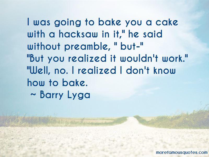 Bake Cake Quotes