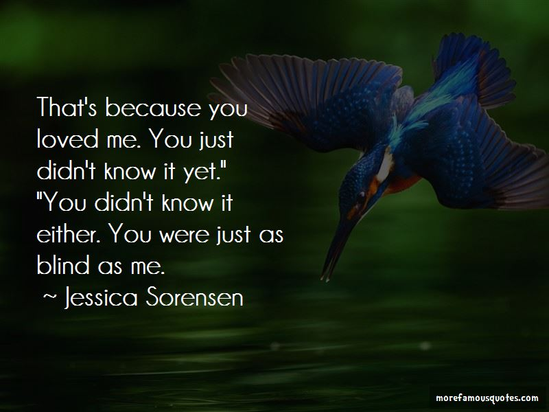 Because You Loved Me Quotes Pictures 2