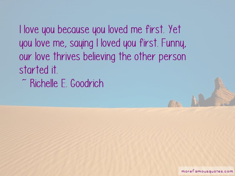 Because You Loved Me Quotes Pictures 3