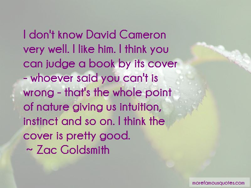 Can Judge A Book By Its Cover Quotes: top 5 quotes about Can ...