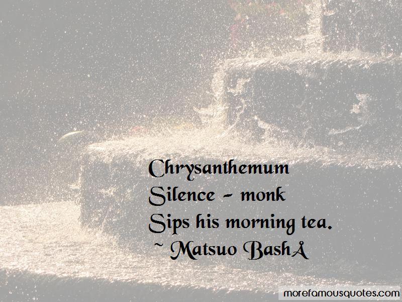 Chrysanthemum Tea Quotes