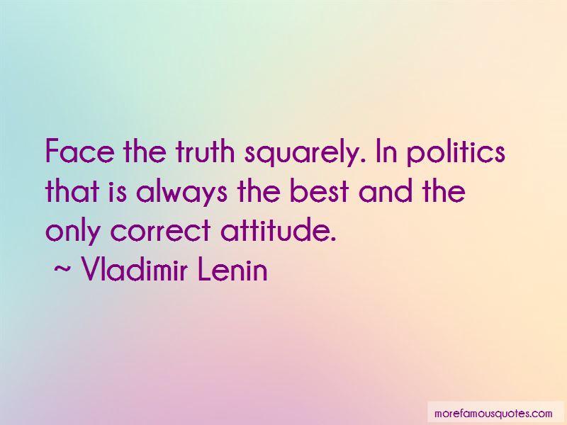 Correct Attitude Quotes