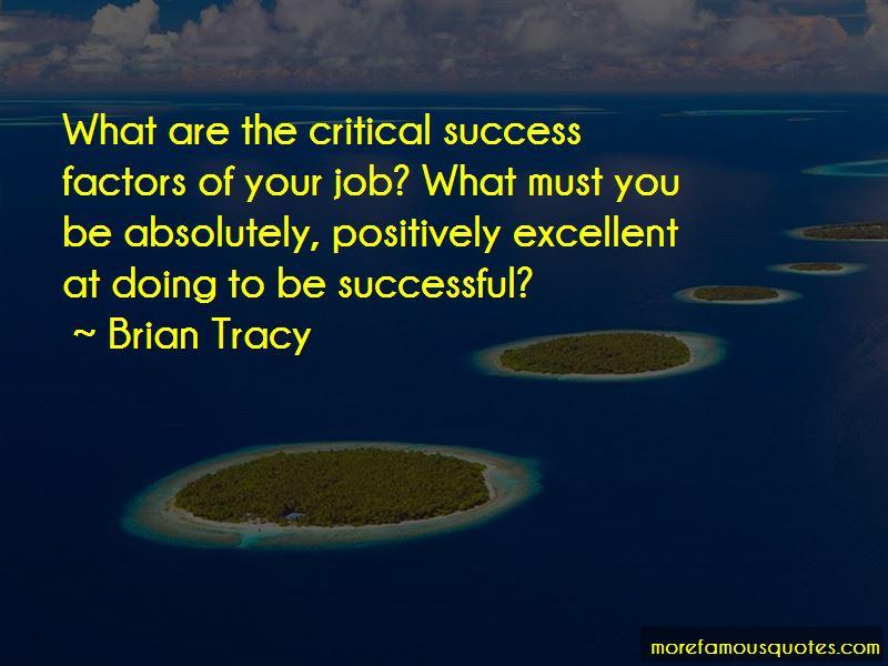 Critical Success Factors Quotes Pictures 2