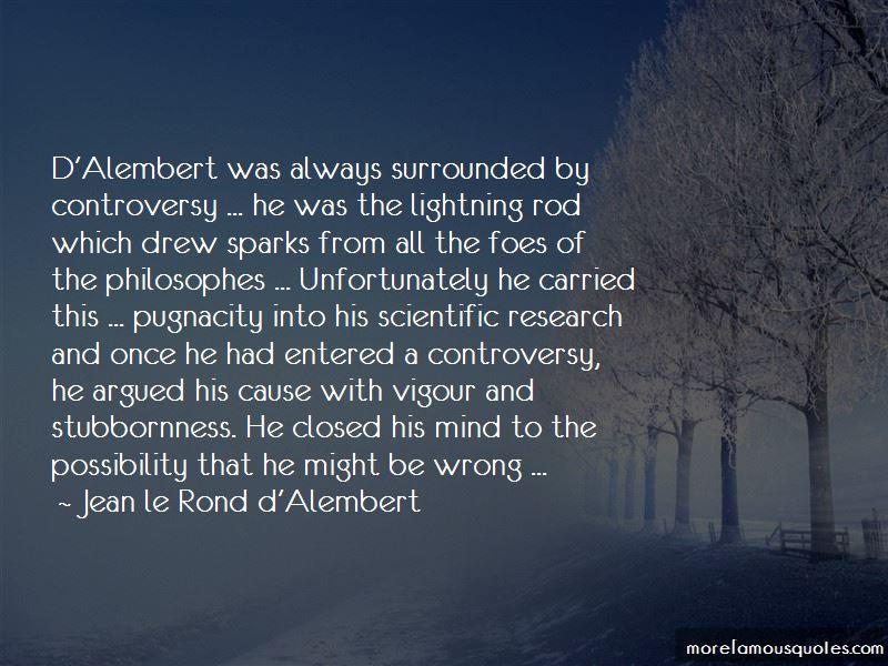 D'alembert Quotes
