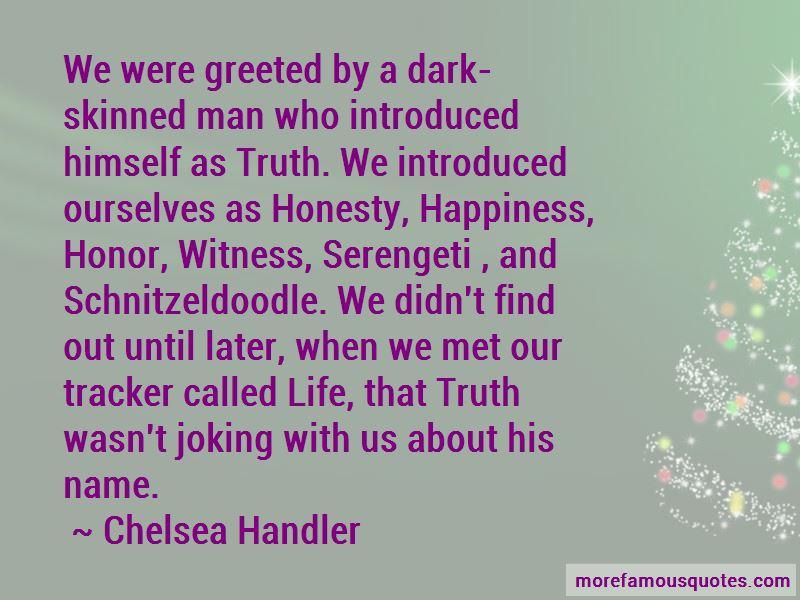 Dark Skinned Man Quotes