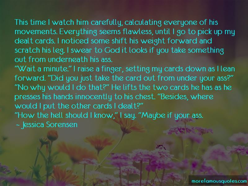 Dealt Cards Quotes