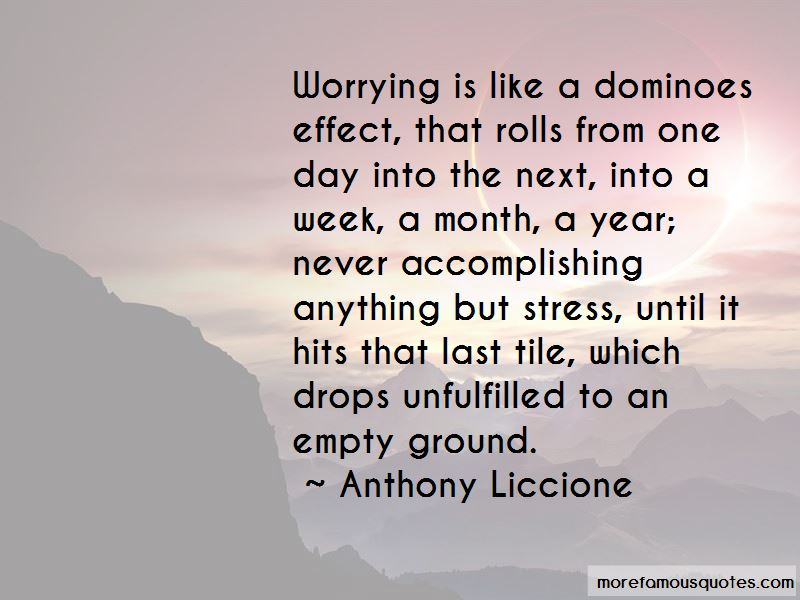 Dominoes Effect Quotes