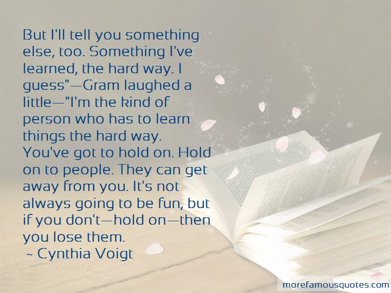 Don't Hold On Quotes Pictures 3