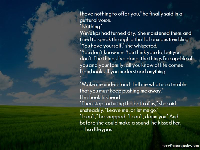 Family Pushing You Away Quotes