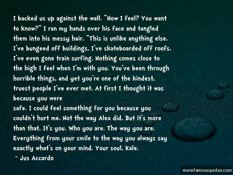 First I Met You Quotes