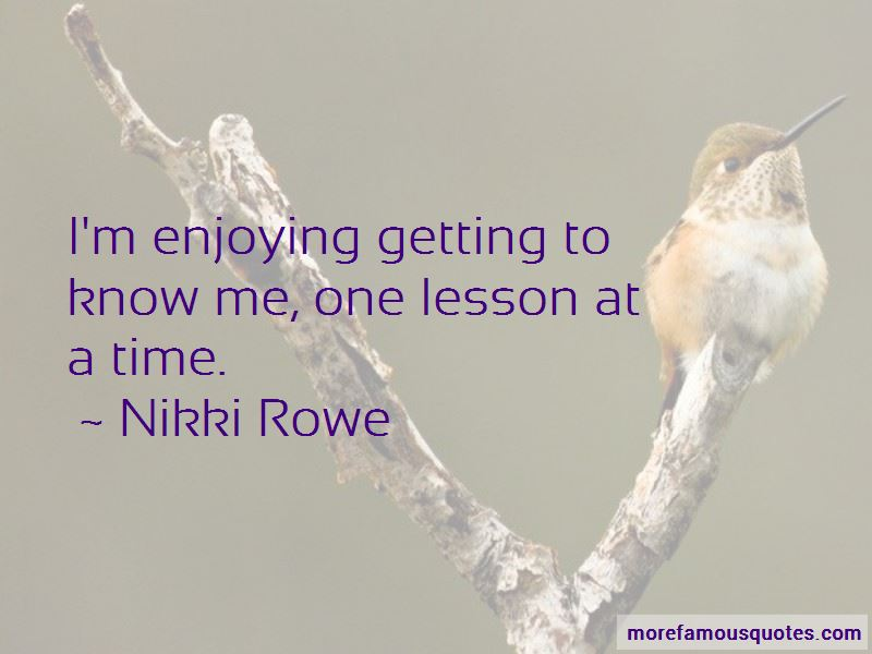 Getting To Know Me Quotes Pictures 2